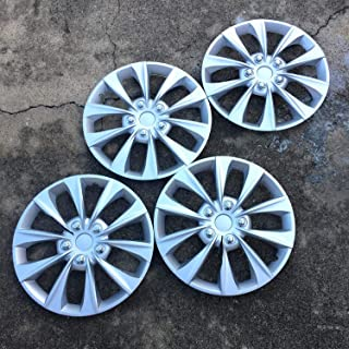 set of 4 genuine all metal Buick 13 inch hubcaps wheel covers