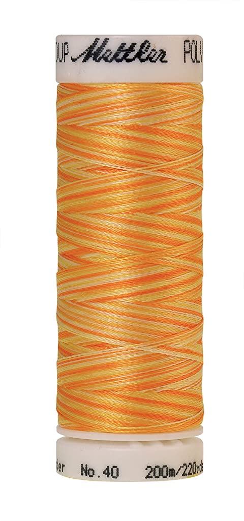 Mettler Poly Sheen Multi Polyester Thread, 200m/219 yd, Sunny Rays