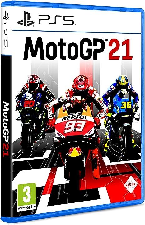 Moto gp 21 - playstation 5 B08WXVFPZX