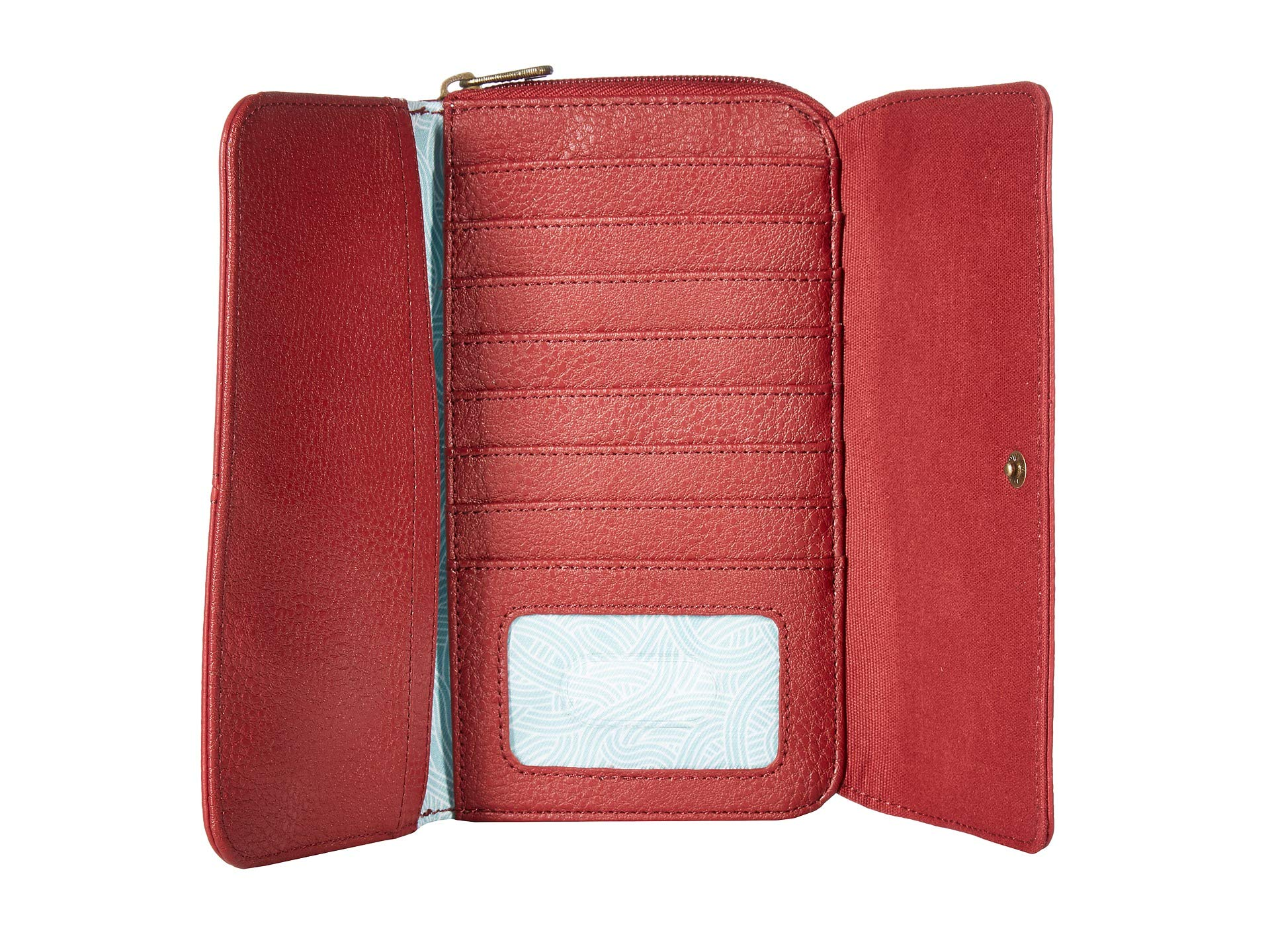 Wallet Large The Sak Scarlet Extra Sequoia xqvnISwvat