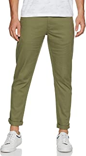 Amazon Brand - Symbol Men's Stretchable Casual Trousers