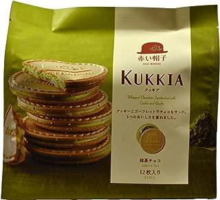 Kukkia Matcha Green Tea Cookies