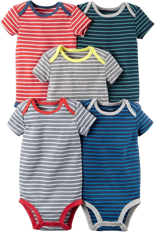 Carter's Baby Boys' Houston Mall 126g335 Bodysuits Luxury goods Multi-pk