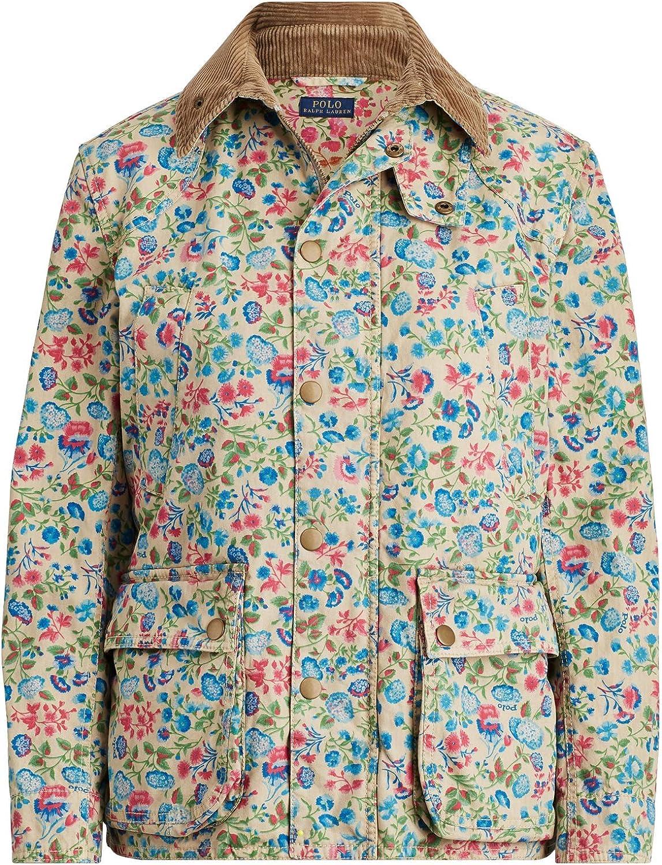Polo Ralph Lauren Women's Floral 2021 new Industry No. 1 Vintage Barn Jack Button Canvas