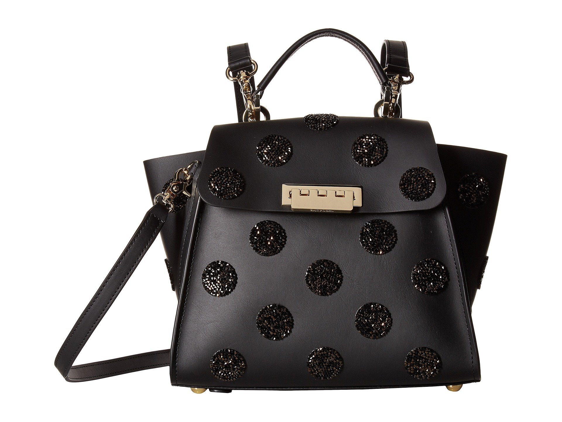 Mochila para Mujer ZAC Zac Posen Eartha Iconic Convertible Backpack - Black with Swarovski® Crystals  + ZAC Zac Posen en VeoyCompro.net