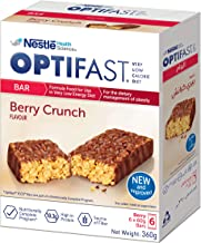 Optifast Very Low Calorie Diet Bar Berry Crunch Flavor, 360g