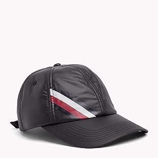 Tommy Hilfiger Men's Signature Baseball Cap, Black