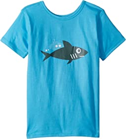 4Ward Clothing PBS KIDS® - Ocean Graphic Reversible Tee (Toddler/Little Kids)