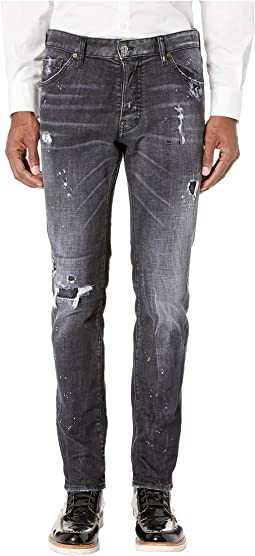 Night Stellata Wash Cool Guy Jeans in Black