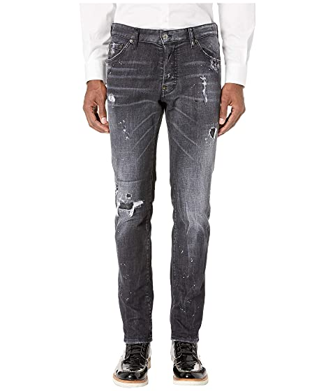DSQUARED2 Night Stellata Wash Cool Guy Jeans in Black