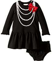 Kate Spade New York Kids - Pearl Necklace Dress Set (Infant)