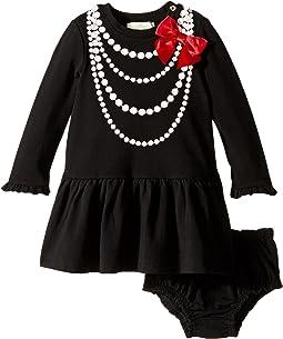 Kate Spade New York Kids - Pearl Necklace Dress Set (Infant)