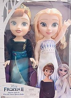 DisneyFrozenII -Queen Anna & Else The Snow Queen Dolls