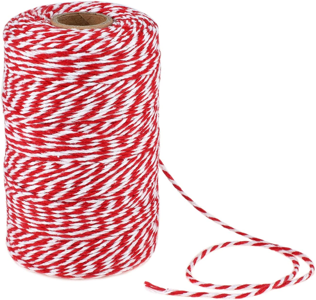 656 Feet Safety and trust Red White Twine Day Gif Colorado Springs Mall Mothers Bakers Cotton