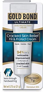 Sponsored Ad - Gold Bond Ultimate Cracked Skin Relief Fill & Protect Cream, Precision Tip, 0.75 Ounce