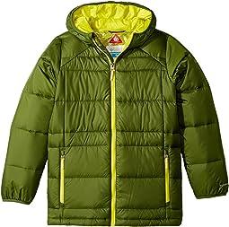 Columbia Kids - Gold 550 Turbodown Hooded Jacket (Little Kids/Big Kids)