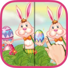 Easter Spot the Differences Game for Kids