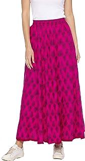 Globus Pink Printed Skirts