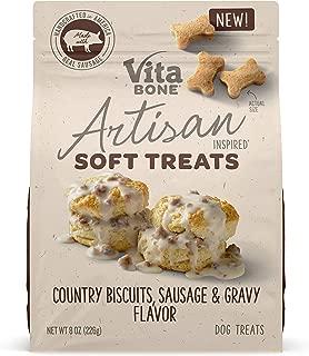 Vita Bone Artisan Inspired Soft Dog Treats, Naturally Wholesome Treats. Made in The USA.