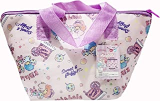 Sanrio JP Little Twin Star Beautiful Insulated Aluminum Lunch/Cooler Bag with Handles Japan Limited Edition