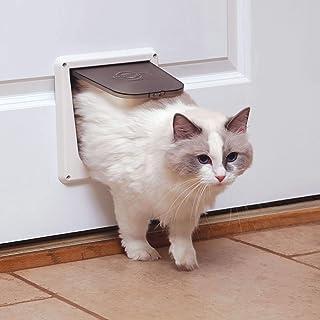 PetSafe Interior Cat Door – 2-Way Lock or 4-Way Lock Options – For Cats Up to 15 lb Small 299052