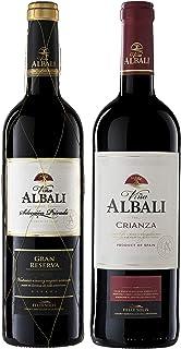 Set de vinos Viña Albali: 1 botella Gran Reserva, 1 botella Crianza