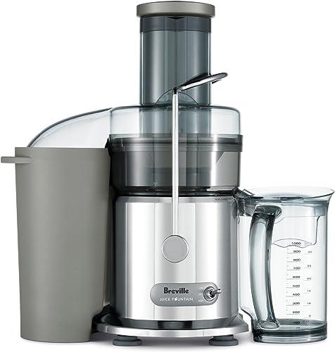 Breville BJE410CRO Juice Fountain Plus, Chrome