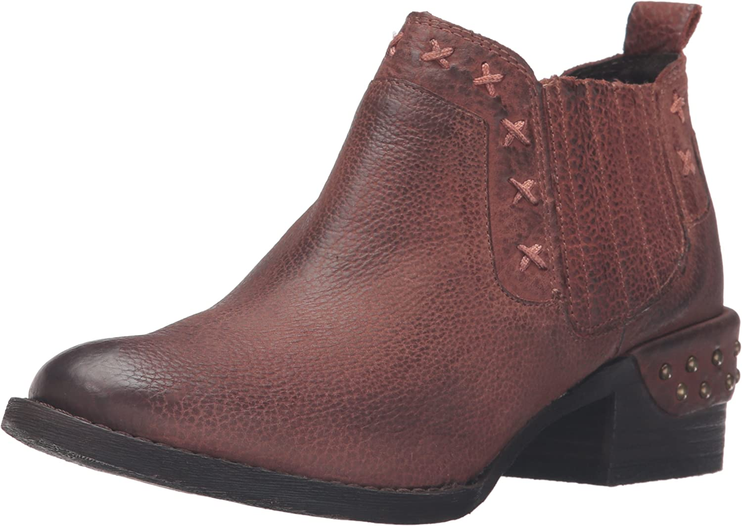 Naughty Monkey Womens Miss M Ankle Bootie