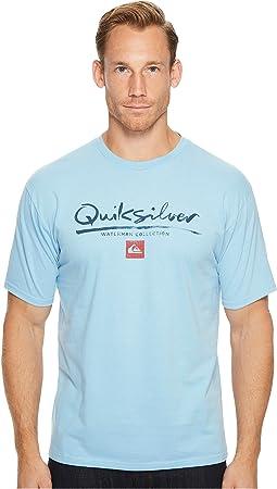 Quiksilver Waterman - Wordmark Short Sleeve Tee