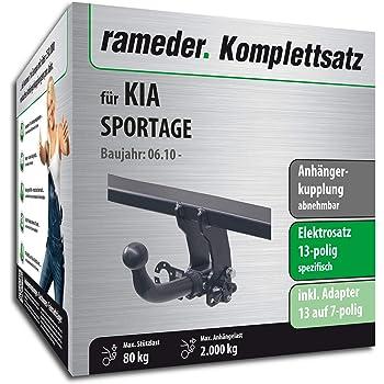 Rameder Komplettsatz Anhängerkupplung Abnehmbar 13pol Elektrik Für Kia Sportage Iii 122118 08751 1 Auto
