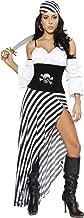 black and white womens pirate costume