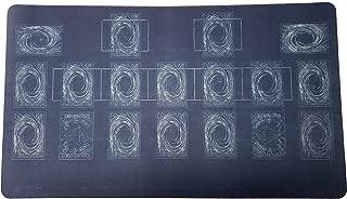AArt TM Yugioh Blueprint Template 2017 Master Rule 4 Link Zone Playmat - TCG Playmat - Magic The Gathering Playmat - MTG Playmat - TCG Playmat - Yugioh Duel Playmat, Gaming Playmat, Gaming Rug
