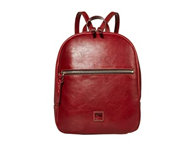 Dooney & Bourke Florentine Ronnie Backpack (Bordeaux/Self Trim) Backpack Bags