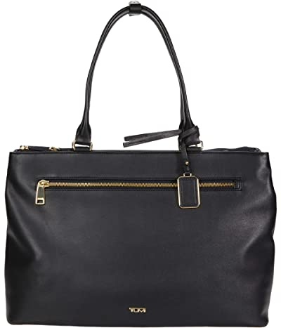 Tumi Voyageur Sidney Leather Business Tote