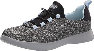 JBU by Jambu womens Dart Sneaker, Grey/Stone Blue, 11 US