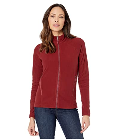 Marmot Rocklin Full Zip Jacket (Claret) Women