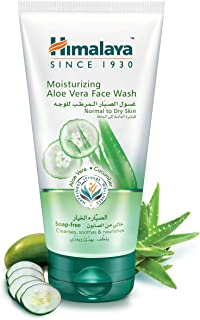 Himalaya Moisturizing Aloevera Face Wash - 150 ml