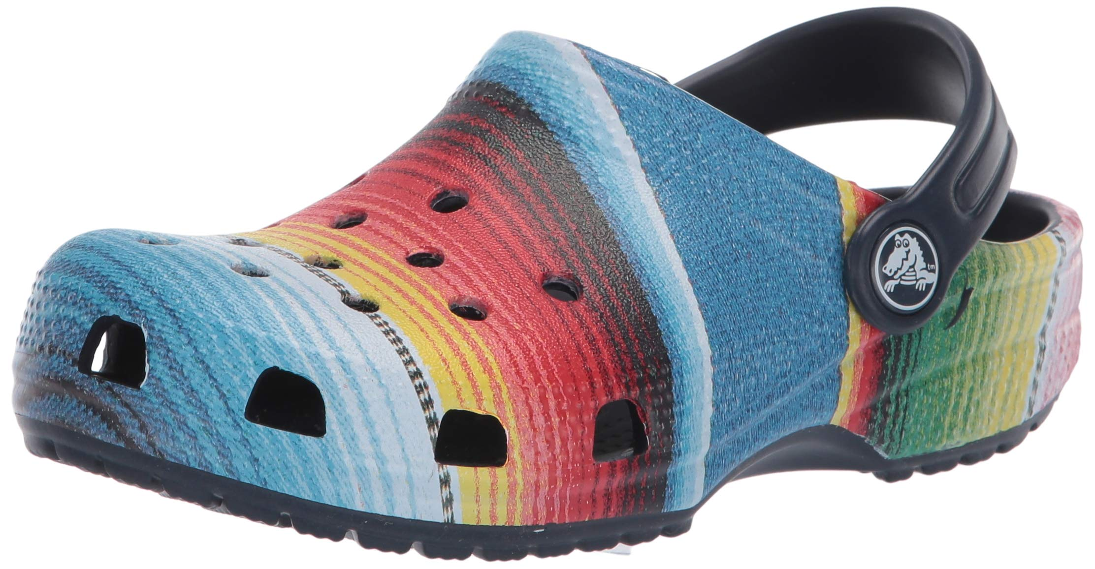 Slip On Water Shoes for Boys and Girls Crocs Kids Classic Graphic Clog