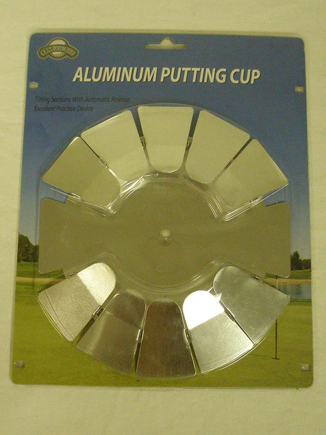 On Course Aluminum Putting Cup Putting Aid RH or LH