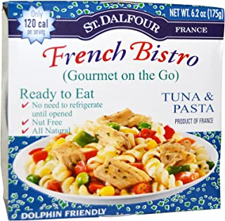 St Dalfour French Bistro Gourmet on The Go Tuna Pasta 6 Pack 6 2 oz 175 g Each
