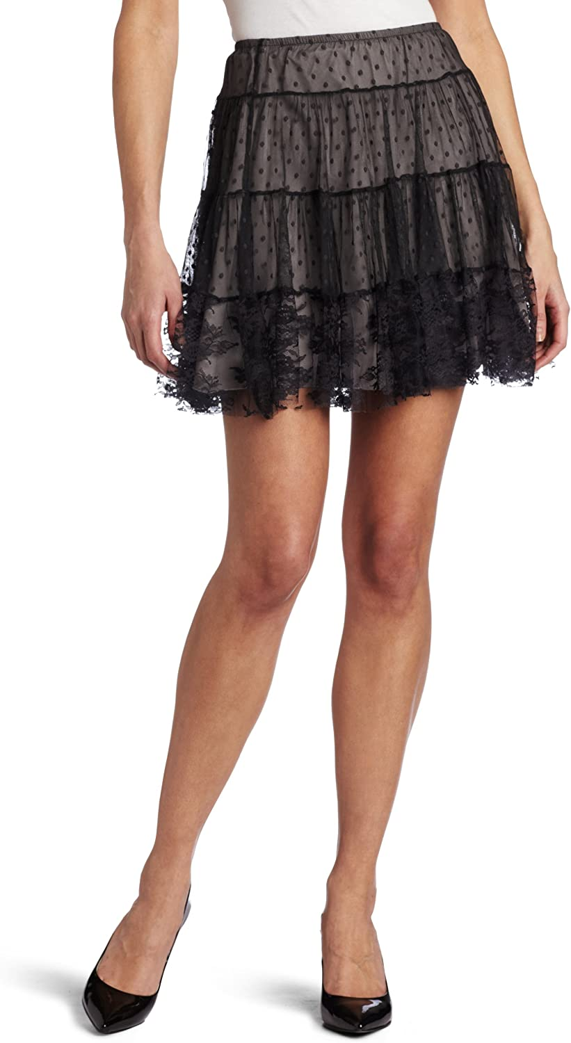A surprise price is realized Only Hearts Women's Petticoat Mini Excellent Skirt Lined