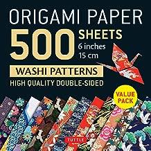 Origami Paper 500 sheets Japanese Washi Patterns 6