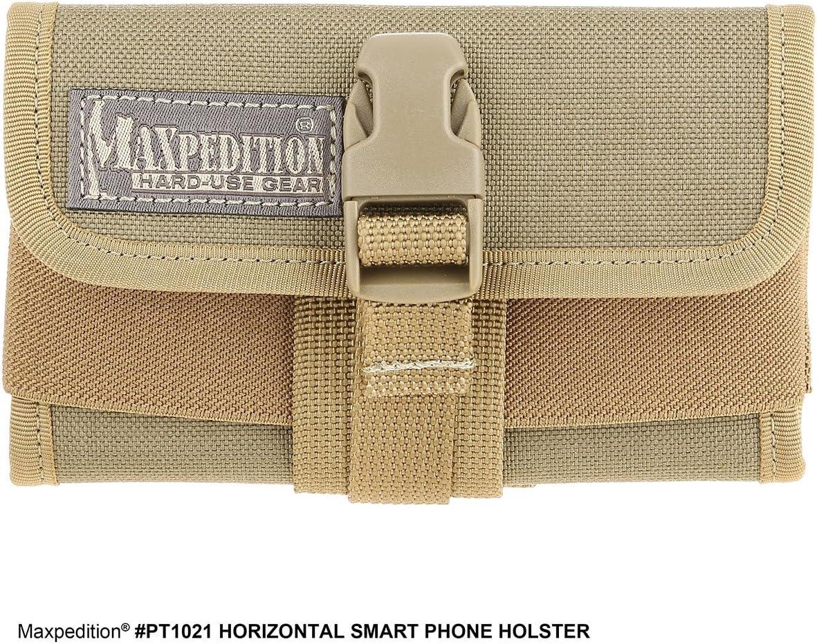 Maxpedition PT1021K Horizontal Smart Phone Holster, Khaki