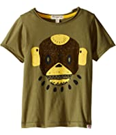 Appaman Kids - Super Soft Swamp Mask Graphic Tee (Toddler/Little Kids/Big Kids)