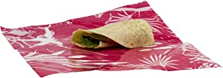 WRAPEAT REUSABLE LONGER LASTING FOOD WRAP PACK (Small Sub, Burrito, roll-n-wrap size X3 multi pack). For lunch boxes, lunch bags, Food Safe, Non-Allergenic, Beeswax Free