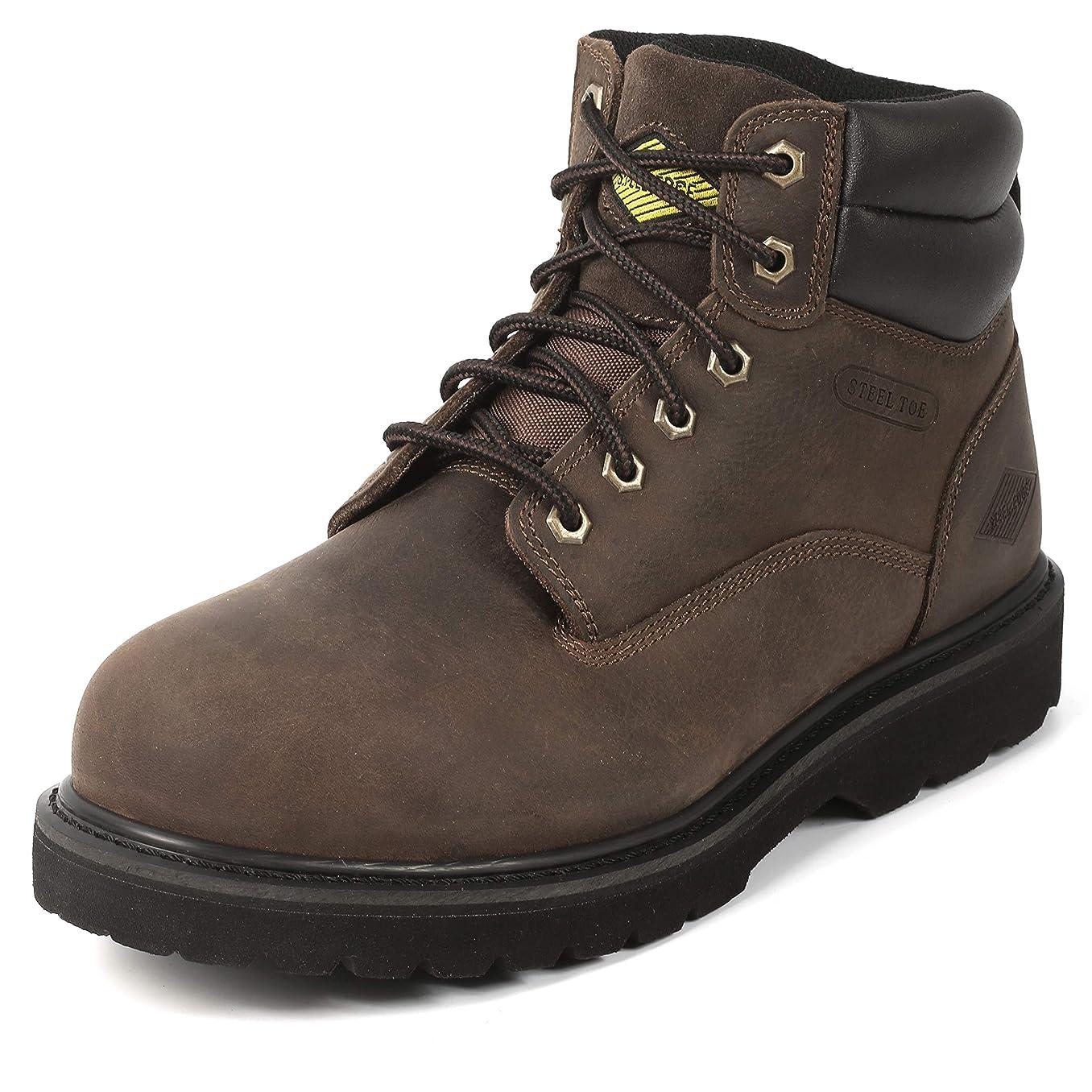 Steel Toe Work Boots for Men 6