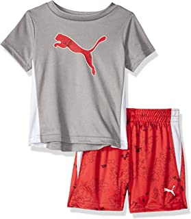PUMA Baby Boys' T-Shirt & Short Set