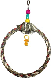 FeatherSmart Parrot Bird Rope Swing