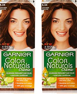 Garnier Color Naturals Shade 6.34 Twin Pack,100 ml x 2