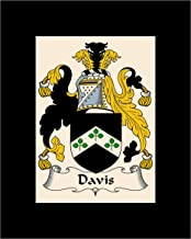 Carpe Diem Designs Davis Coat of Arms/Davis Family Crest 8X10 Photo Plaque, Personalized Gift, Wedding Gift